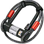 Magnum Plus Mini Shackle & Extender Cable Bike Lock