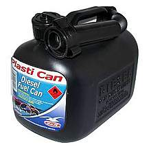 image of Halfords Plastic Diesel Fuel Can 5L