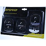 image of Ripspeed Competition Car Pedal Set - Chrome