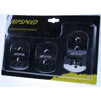 Ripspeed Competition Car Pedal Set - Chrome