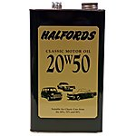image of Halfords Classic Oil 20W50 5L