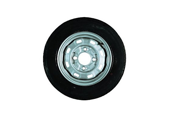 Erde 122 Trailer Spare Wheel without support