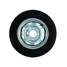 image of Erde Trailer Spare Wheel without support 142