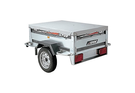 Erde 153 Flat Trailer Cover