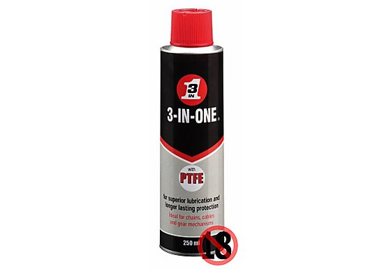 3-IN-ONE with added PTFE Aerosol 250ml