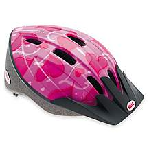 image of Bell Amigo Bike Helmet - Pink Hearts (50-55cm)