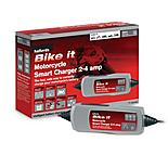 Halfords Bike it Motorcycle Smart Charger 2-4 Amp