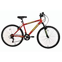 "image of Indi Integer Kids Mountain Bike Red - 26"" Wheel"