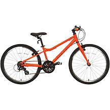 "image of Carrera Abyss Junior Hybrid Bike - 24"" Wheel"