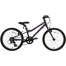 image of Carrera Saruna Junior Hybrid Bike - 20""