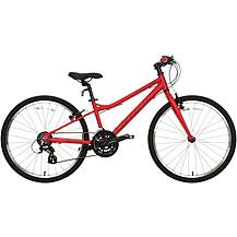 "image of Carrera Saruna Junior Hybrid Bike - 24"" Wheel"