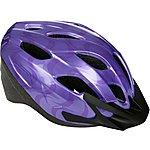 image of Purple Swirls Kids Bike Helmet