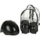Black Helmet and Pads Backpack