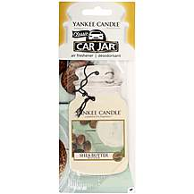 image of Yankee Candle Car Jar Air Freshener in Shea Butter