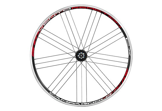 Campagnolo Vento Cyclocross Pair Wheels Red and Black - 700c