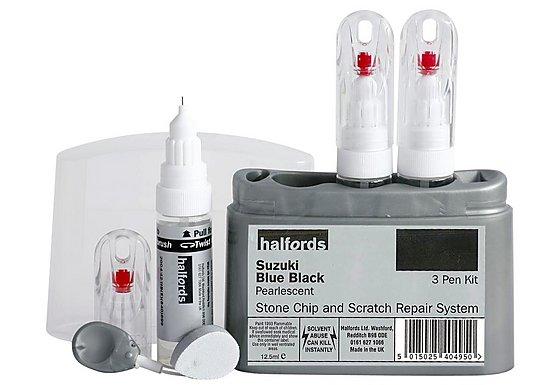 Halfords Suzuki 'Blue Black' Scratch & Chip Repair Kit