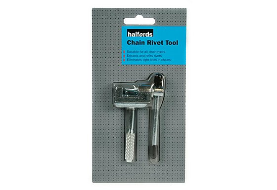 Halfords Chain Rivet Tool