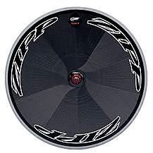 image of Zipp Super-9 Disc Tubular Rear Wheel 10/11SP SRAM Black