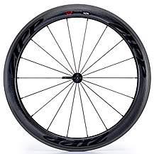 image of Zipp 404 Firecrest Carbon Clincher 77 Front Wheel Black