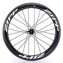 image of Zipp 404 Firecrest Carbon Clincher 177 Rear Wheel 10/11SP SRAM- White