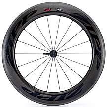 image of Zipp 808 Firecrest Carbon Clincher 77 Front Wheel
