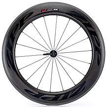 image of Zipp 808 Firecrest Tubular 77 Front Wheel