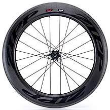 image of Zipp 808 Firecrest Tubular 177 Rear Wheel 10/11SP SRAM