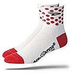 image of DeFeet Aireator Mens Polka Dot Socks