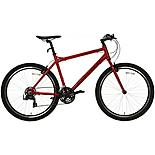 "Carrera Axle Mens Hybrid Bike - Red - 16"", 18"", 20"" Frames"