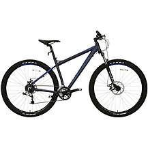"image of Carrera Hellcat Mens Mountain Bike - Blue - 16"", 20"" Frame"