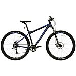 "image of Carrera Hellcat Mens Mountain Bike - Blue - 16"", 18"", 20"" Frames"