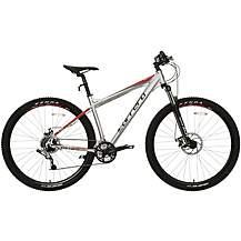 Carrera Hellcat Mens Mountain Bike - Silver -