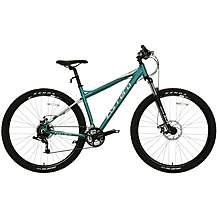 "image of Carrera Hellcat Womens Mountain Bike - Emerald - 16"", 18"" Frames"