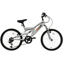 "image of Ridge Full Suspension Junior Mountain Bike - 20"" Wheel"