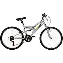"image of Ridge Full Suspension Junior Mountain Bike - 24"" Wheel"