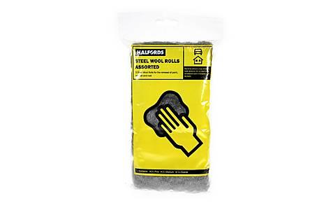 image of Halfords Steel Wool 5 Pack