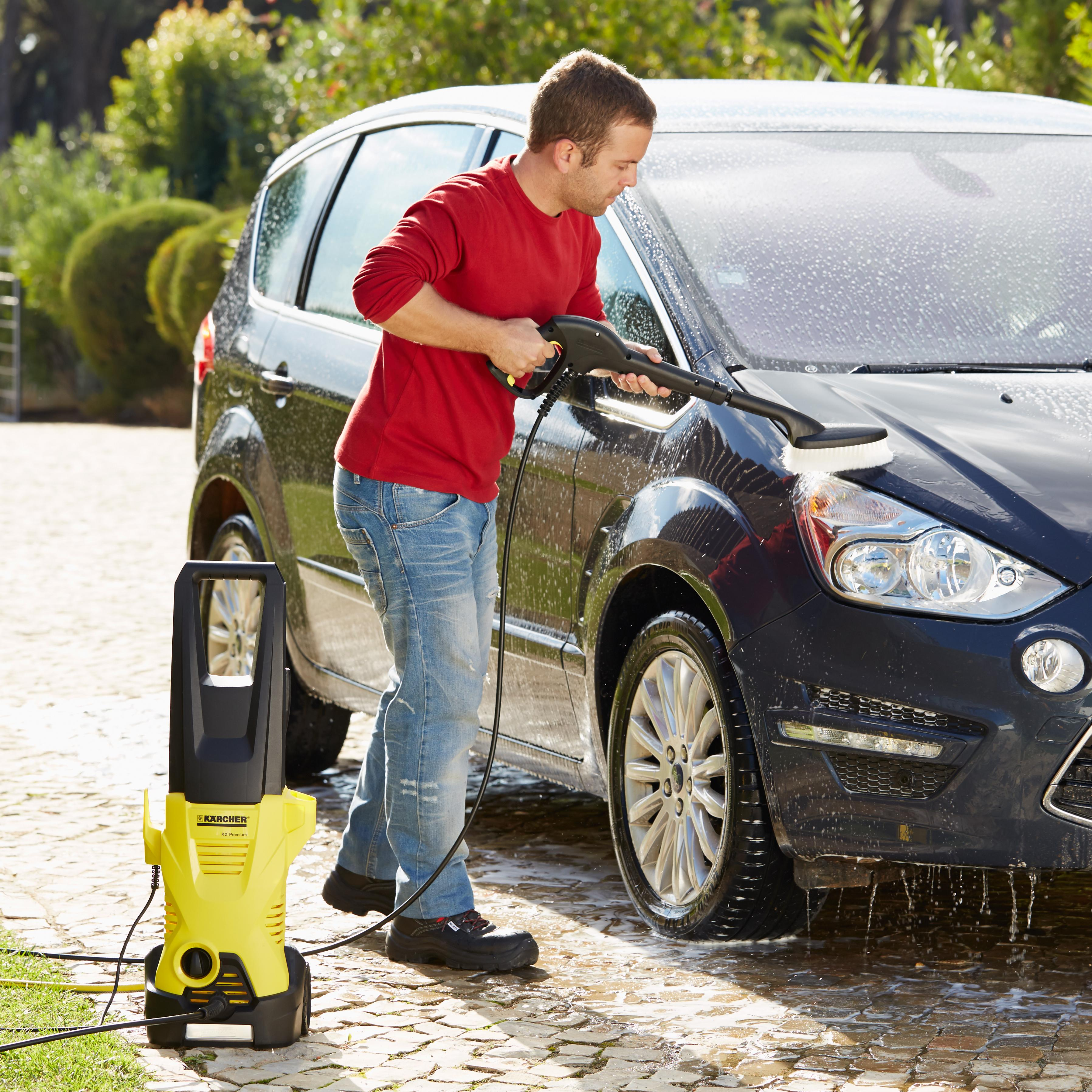 karcher pressure washer car wash brush