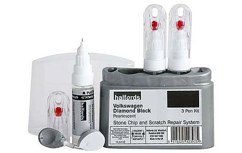 image of Halfords Volkswagen 'Diamond Black' Scratch & Chip Repair Kit