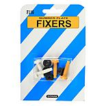 Number Plate Fixers - Nylon Nuts and Bolts