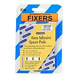 Number Plate Fixers - 6mm Adhesive Spacer Pads