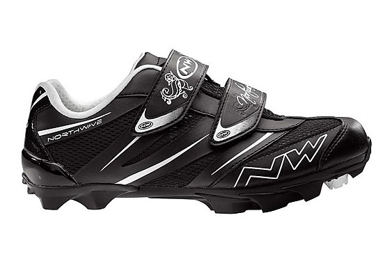 Northwave Elisir Pro 2013 Womens MTB Cycling Shoes - Black