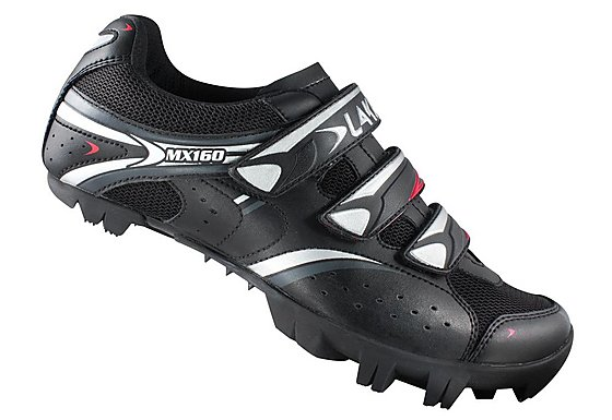 Lake MX160 MTB Mens Cycling Shoes - Black