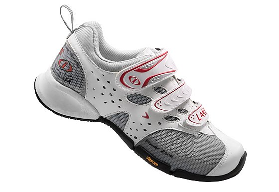 Lake I/O Active Womens Cycling Shoes - White