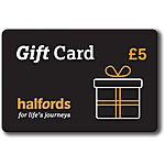image of Halfords 5 Pound Gift Card