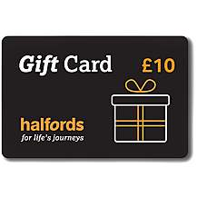 image of Halfords 10 Pound Gift Card