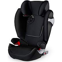 image of Cybex Solution M-Fix Booster Seat Stardust Black