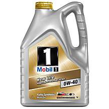 image of Mobil 1 New Life 0W/40 Oil 5L