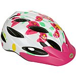 image of Bell Buzz Flowers Kids Bike Helmet