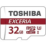 image of Toshiba 32GB Micro SD Card