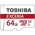 image of Toshiba 64GB Micro SD Card